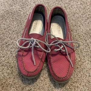 🔥 MOVING SALE | solid pink sperrys